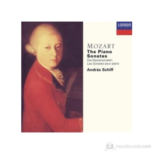 Andras Schiff - Mozart:The Piano Sonatas (5 Cd)