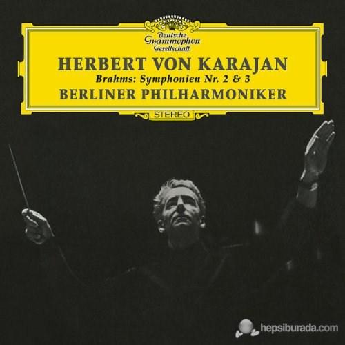 Herbert Von Karajan - Brahms: Symphonıes Nos:2 And 3