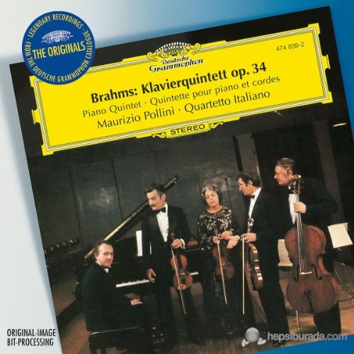 Maurizio Pollini - Brahms: Piano Quintet