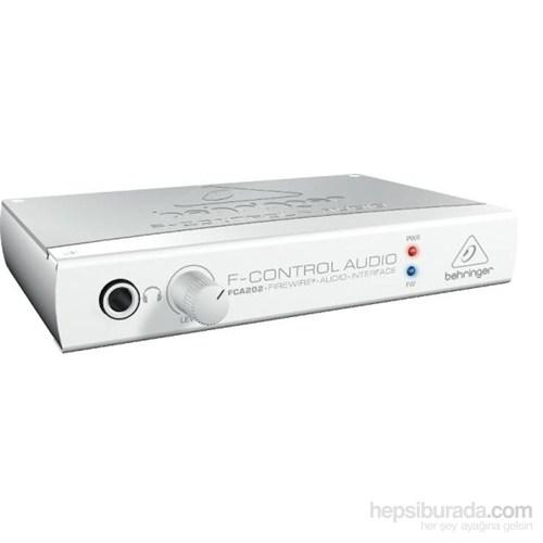 Behringer Fca202 Audiophile 2 In/2 Out 24-Bit/96 Khz Firewire Audio Arabirim