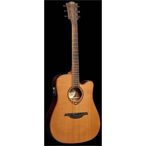 Lag Gla T 100 Dce Naturel Elektro Akustik Gitar