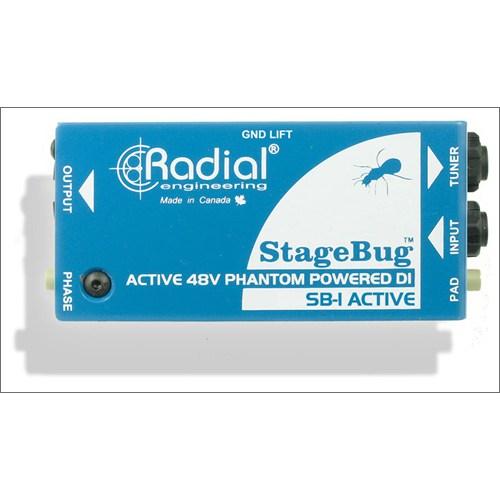 Radial Stage Bug Sb 1 Aktif Dı Box