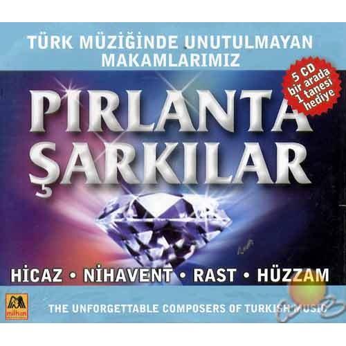 Pırlanta Şarkılar (5 Cd) (milhan)