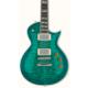 Esp Usa Eclipse Qm Emerald Green Sunburst Duncan Elektro Gitar