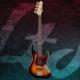 Esp Ltd J-204 3 Tone Burst Bas Gitar