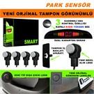 Park Sensörü Arka Orjinal Lens Görünümlü Yeni Nesil Gümüş Gri Lens