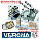 Peruzzo Verona Aluminyum 3 Bisiklet Taşıma Kapasiteli Taşıyıcı Made in Italy