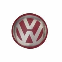 VW Golf İçin 2 Adet Araç Anahtar Logo Amblemi Ürün Kırmızı Renkten Oluşmaktadır Çapı: 1.4 cm