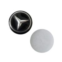 Mercedes İçin 2 Adet Araç Anahtar Logo Amblemi Ürünün Çapı:1.4 cm'dir