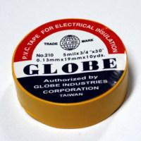 Globe Orjinal Sarı 19mm İzole Bant 6060023