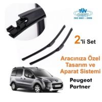 Peugeot Partner Araca Özel Silecek Takımları (Sağ-Sol)