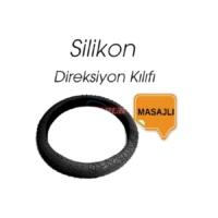 Carub Ultra Masajlı Siyah Silikon Direksiyon Kılıf 36Cm-42Cm