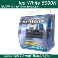 Ice White 9004 12V 100/80W Beyaz 2li Ampül Seti