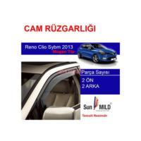 Demircioğlu Renault Clio Sybmol 2013 Mugen Cam Rüzgarlığı 4Lü