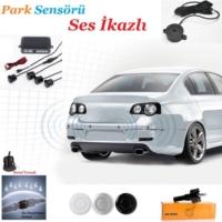 Tvet Park Sensörü Ses İkazlı Beyaz 4 Sensör B1