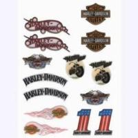 Prc Motosiklet Damla Etiket Seti Harley-Davıdson ( Tankpad Mazemesinden )