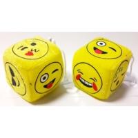 Zar Peluş Emoji Çap:6cm