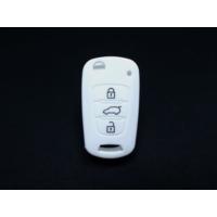 Gsk Hyundai İ30 Kumanda Kabı Koruyucu Silikon Kılıf 3 Tuş 2009-2012 Beyaz
