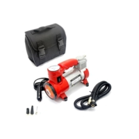 Carub Lastik Hava Kompresörü Metal12V Kırmızı Işıklı Çant