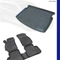Chevrolet Aveo Sedan Bagaj Havuzu Ve 3D Paspas 2011 Üzeri
