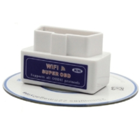 SuperOBD ELM327 OBD2 WiFi Araç Arıza Tespit Cihazı Türkçe Mini OBD 2