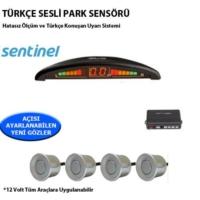 Tvet Türkçe Konuşan Park Sensörü Ekranlı Gri Lensli Sentinel