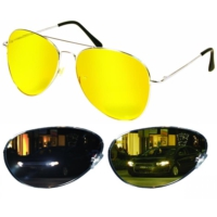 Modacar Rayban Model Gece Sürüş Ve Sis Gözlüğü 105021