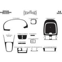 Nissan Sunny/Almera 04.00-02.03 Arası Alüminyum Ka