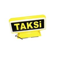 Taksi Levhası İtalyan Tip Mıknatıslı Sarı