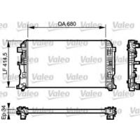 Valeo 734930 Radyatör Sprınter 06>Crafter 06> 2.5Tdı (Ac Klimasız Mek) (680X414.5X34)