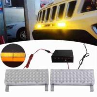 Escort Ambulans Çakarlı Lamba Sarı Büyük 44ledli 3 Fonksiyonlu 4310108
