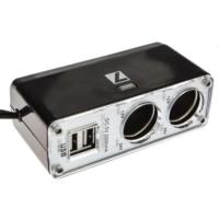 ModaCar 1 Çakmaktan 2 USB 2 Çakmak Çıkış Çoklayıcı 840297