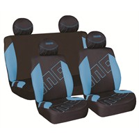 Momo 001 Spor Koltuk Kılıfı Seti ( Mavi/Siyah)