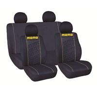 Momo 008 Spor Koltuk Kılıfı Seti ( Sarı / Siyah)