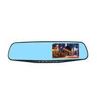"""Azemax Ak-510 Full Hd 4.3"""" Çiftli Araç İçi Dikiz Ayna Kamera+Geri Görüş Kamerası"""