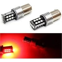 Modacar 1156 Tip Kırmızı 15 Samsung Leldi Stop/Sinyal Ampülü 104456