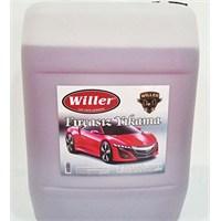 Willer fırçasız yıkama şampuanı 25 litre (PEMBE KÖPÜK)