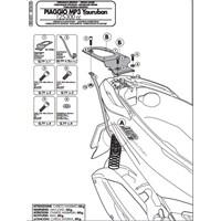 Gıvı Sr5600 Pıaggıo Mp3 Yourban 125-300 (11-15) Arka Çanta Tasıyıcı
