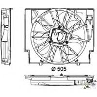 Behr 8Ew351040421 Marka: Bmw - E60/61/63/64 - Yıl: 03-10 - Klima Fanı - Motor: N47n-M57n