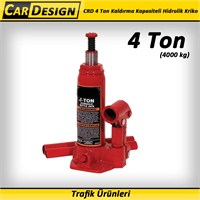 CarDesign 4 Ton Kaldırma Kapasiteli Hidrolik Kriko