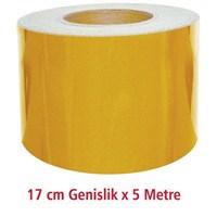ModaCar 17 Cm Genişlik SARI Fosfor 5 Metre 54d011