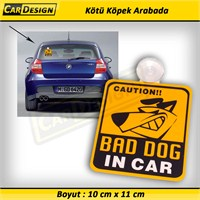 CRD BAD DOG IN CAR Vantuzlu (Arabada Kötü Köpek )