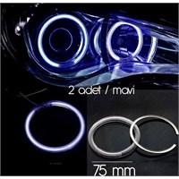 ModaCar Akrilik 75 mm Mavi Angel Eye 610077