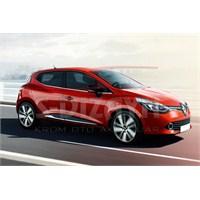 S-Dizayn Renault Clio-4 Cam Çıtası 8 Prç. P.Çelik (2012>)