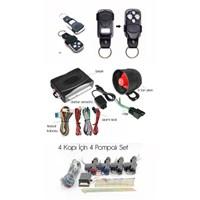 ModaCar Oto Alarm,Merkezi Kilit Ekonomik Set 999803