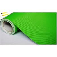 AutoFolyo Yeşil Karbon Folyo 152 Cm X 100 Cm
