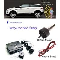ModaCar TÜRKÇE KONUŞAN SESLİ 4 Sensörlü Park Sensörü 34f032