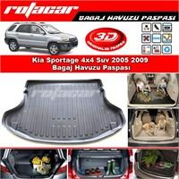 Kia Sportage 4x4 Suv 2005 2009 Bagaj Havuzu Paspası BG0104