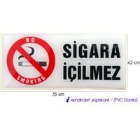 Concept SİGARA İÇİLMEZ PVC Damla Kabartma 06a116