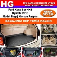 Focus Kuga 2013 Siyah Bagaj Havuzu Paspası 38807